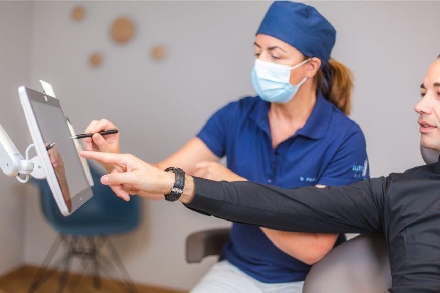 Image consultation traitements parodontaux morges